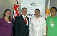 Australian Embassy DAP Committee meets with the GreenEarth staff